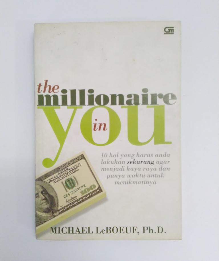 Buku Seri Bisnis The Millionaire In You Edisi Bahasa ...